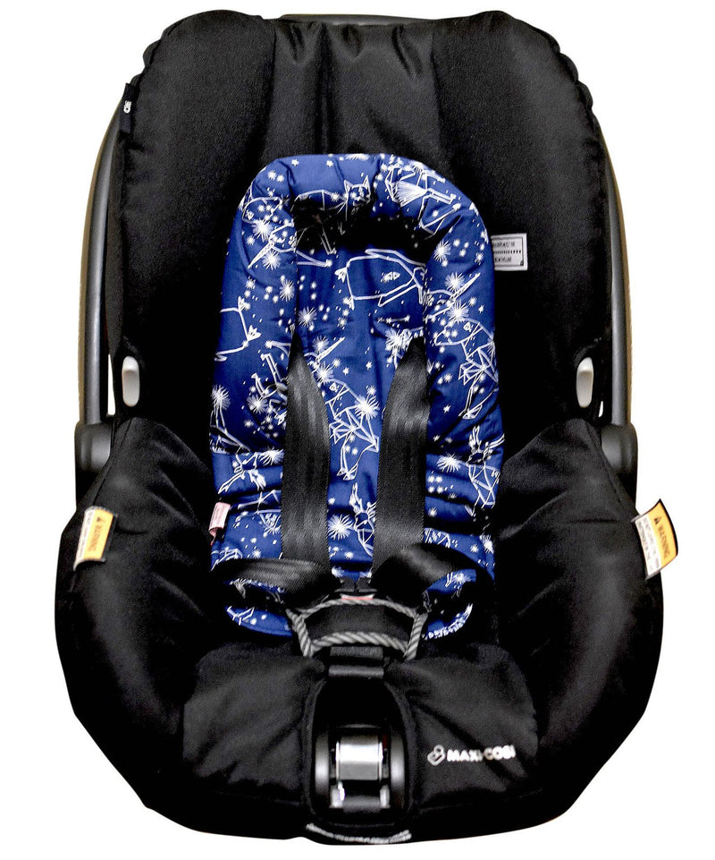 Bambella Designs - Infant Head Support | Navy Constellation