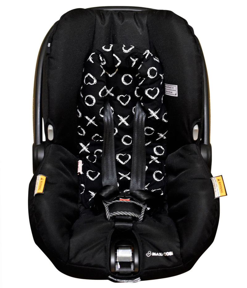 Bambella Designs - Infant Head Support | Black XO