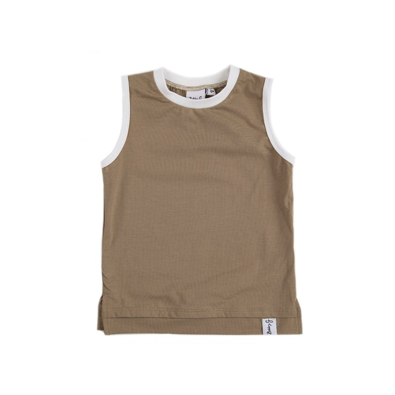Bobby G Baby Wear -Tank Top | Clay