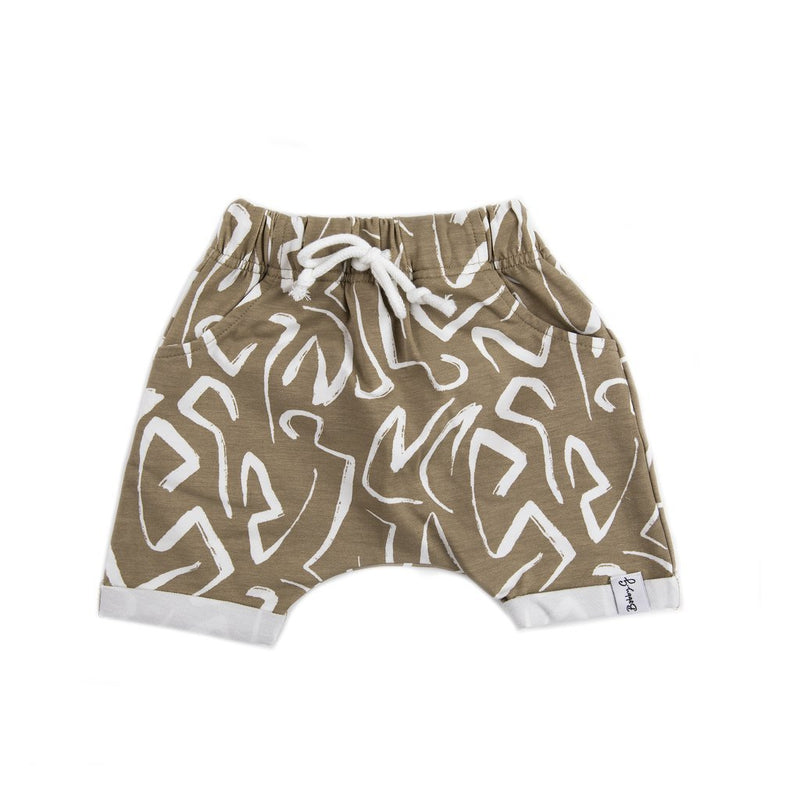 Bobby G Baby Wear - Breeze Shorts | Sketch Print