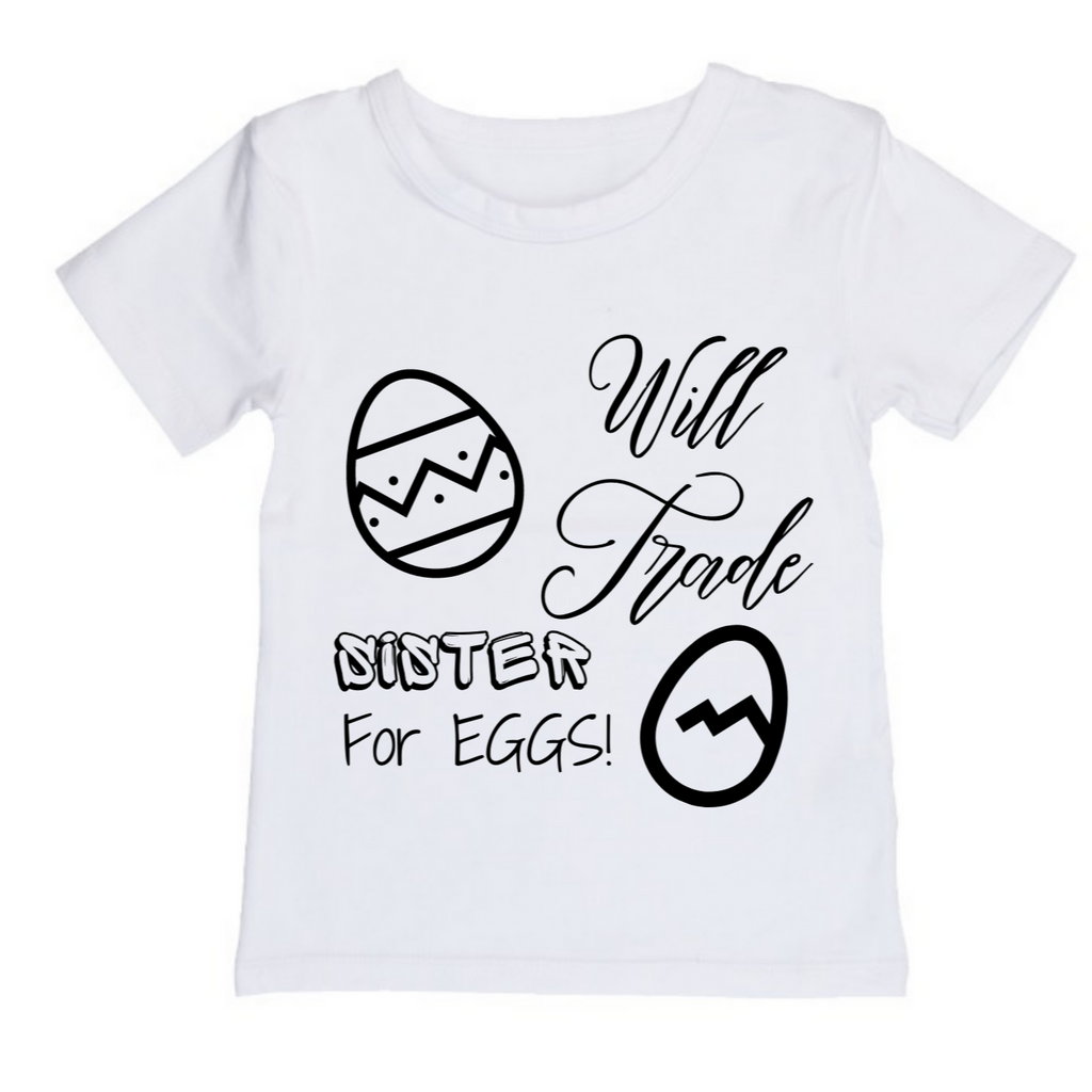 MLW By Design - Trade For Eggs Tee | White or Black