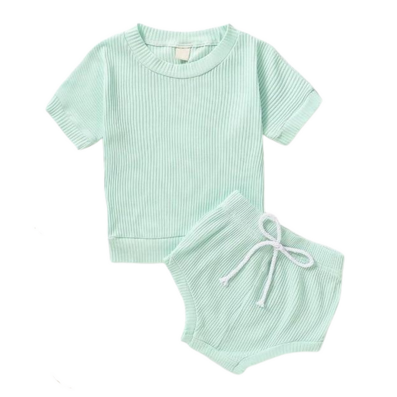 Texas Ribbed Set | Mint
