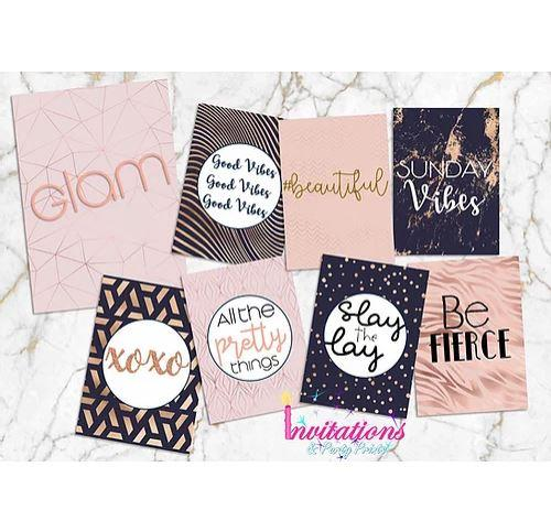 Glam Flatlay Pack
