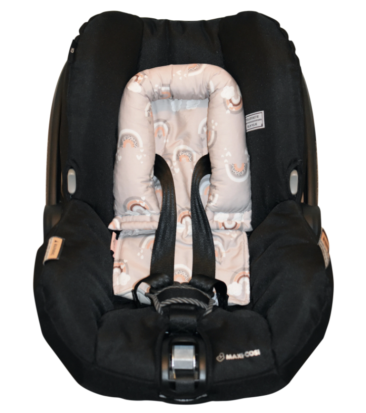 Bambella Designs - Infant Head Support | Fawn Rainbows