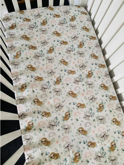 Olive June and Co - Fitted Cot Sheet | Snuggle Buddies