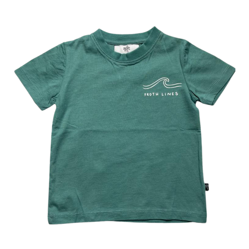 Coast Co Surf - Froth Lines tee