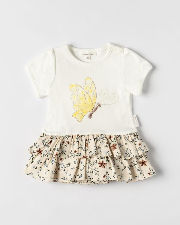 Organicline - Organic Cotton Butterfly Bodysuit Dress