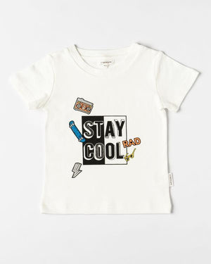Organicline - Stay Cool Tee - Natural White