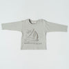 Organicline - Sail Boat Long Sleeve Tee