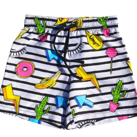 Global Bambino - Cut Out Board Shorts