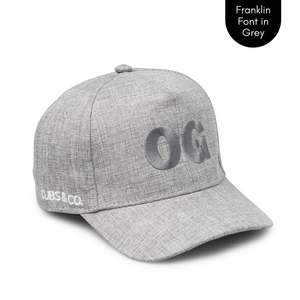 Cubs & Co - PERSONALISED GREY W/ INITIALS | FRANKLIN GREY FONT
