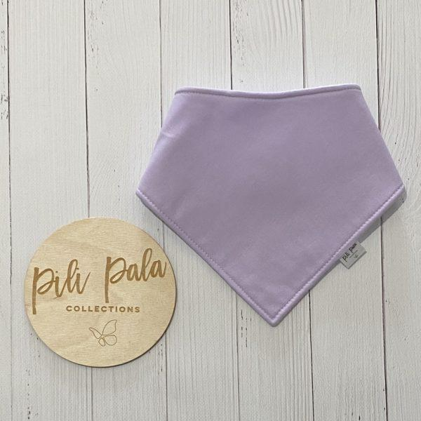 Pili Pala Collections -Lilac Dribble Bib