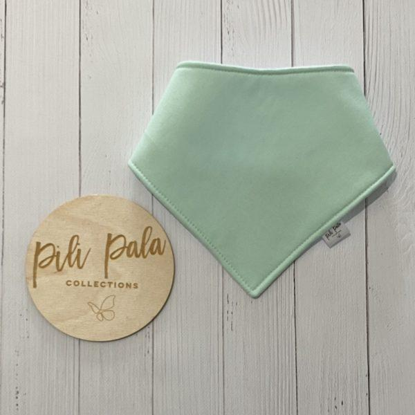 Pili Pala Collections - Mint Dribble Bib