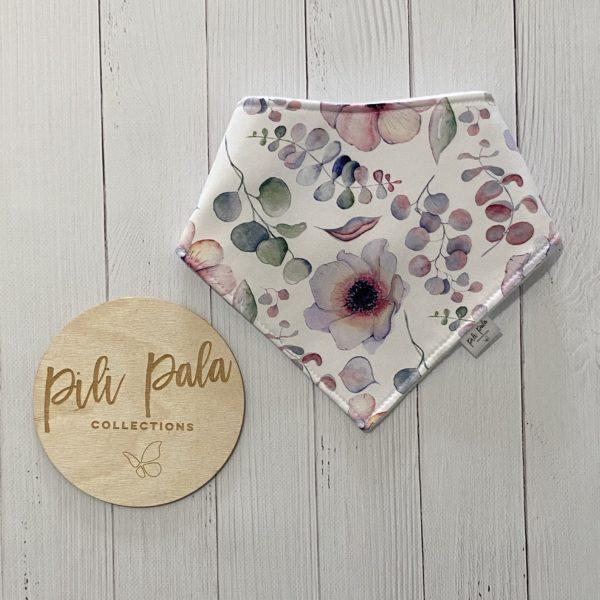Pili Pala Collections - Eucalyptus Dreams Dribble Bib