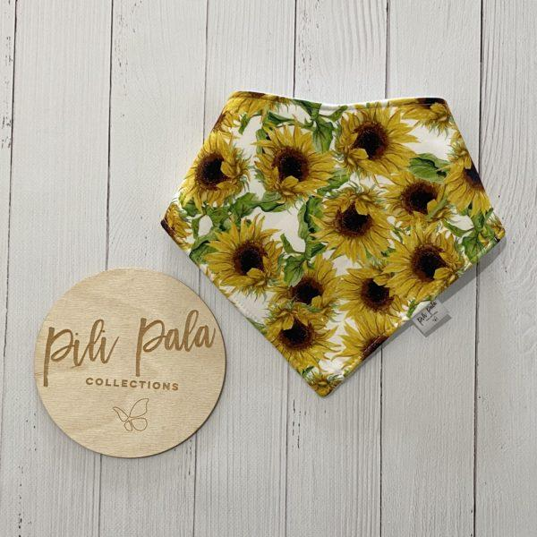 Pili Pala Collections - Sunflower Dribble Bib