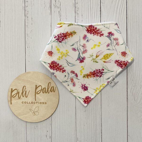 Pili Pala Collections - Flora Australiana Dribble Bib