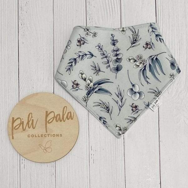 Pili Pala Collections - Native Leaf Dribble Bib