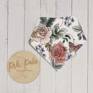 Pili Pala Collections - Rose Garden Dribble Bib