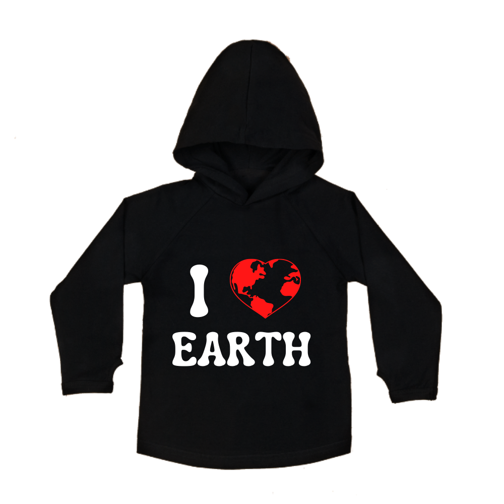 MLW By Design - Love Earth Hoodie | Black or White