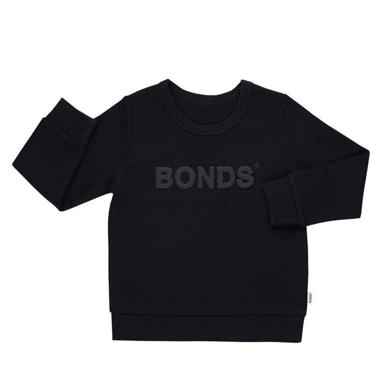 BONDS - Tech Sweats Pullover | Nu Black