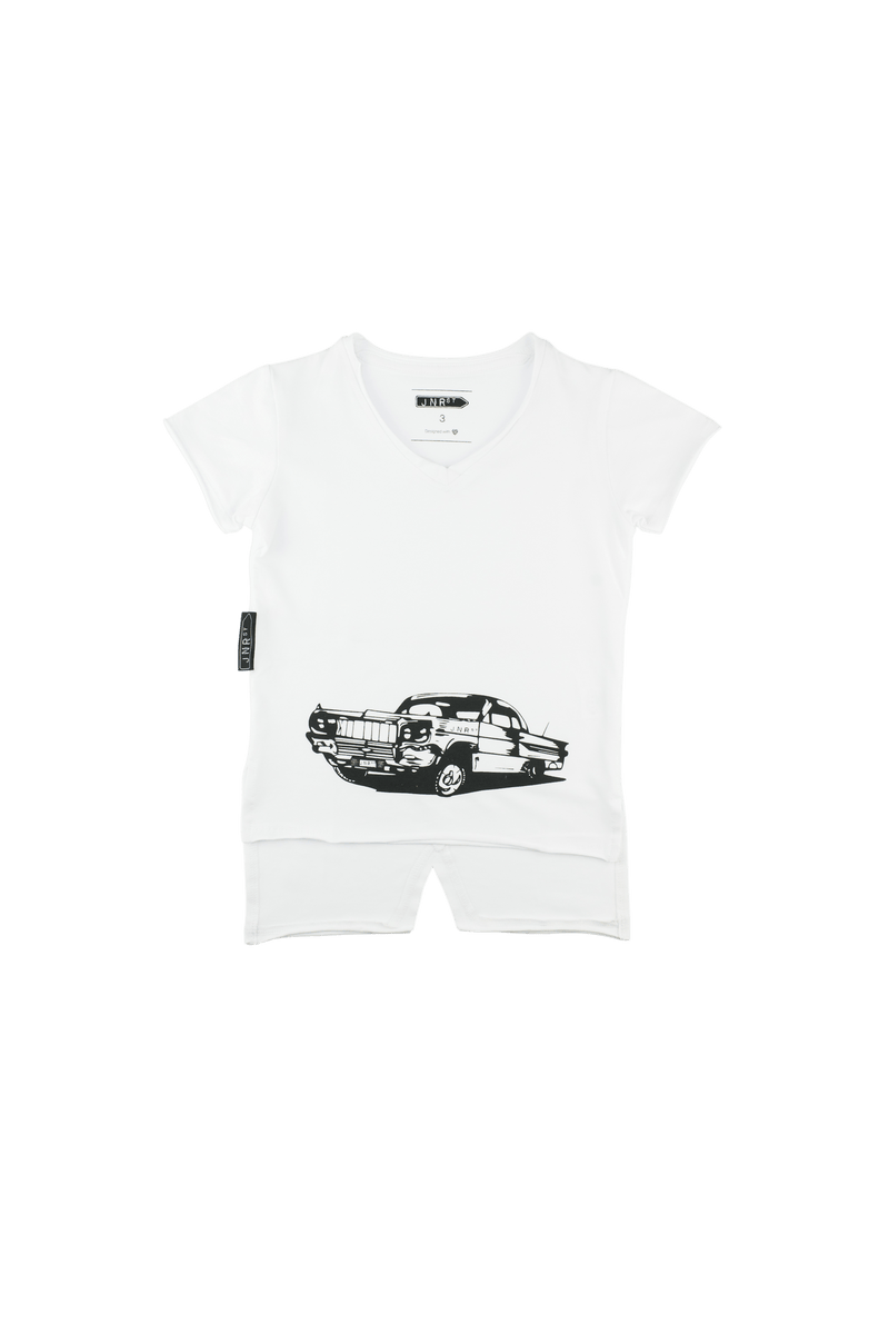 Jnr St Kids - LA MAQUINA T IN WHITE