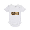 MLW By Design - FKN SASSY CHEETAH Bodysuit Short Sleeve | White or Black