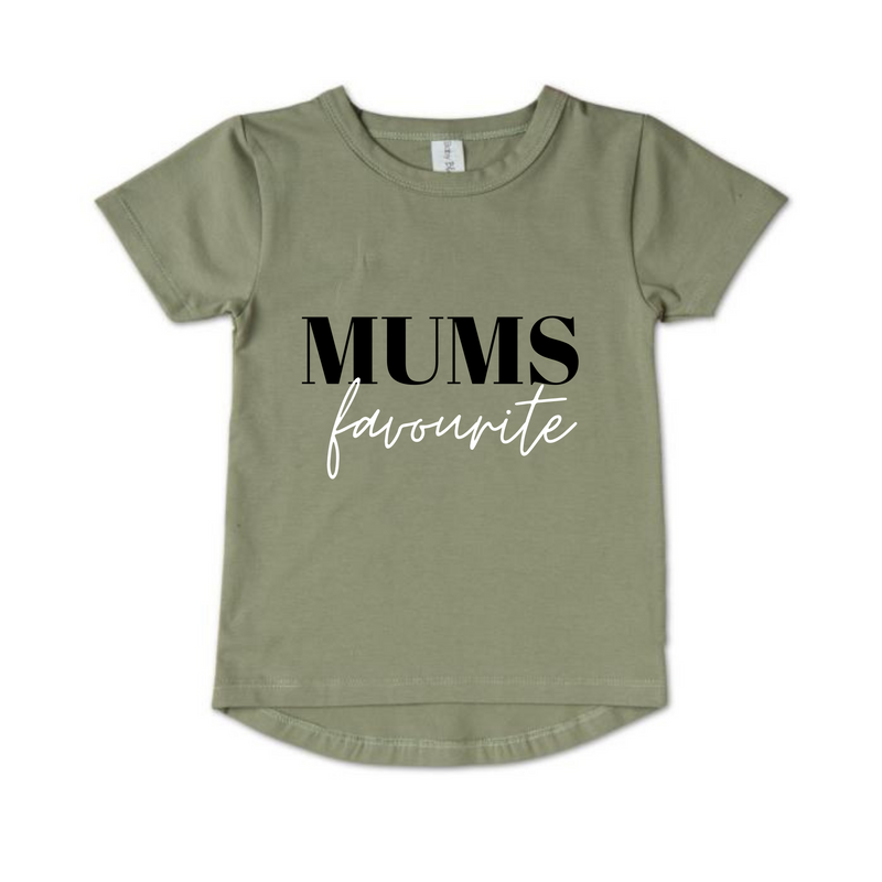 MLW By Design - Mum's Favourite Tee | Sage *LIMITED EDITION*