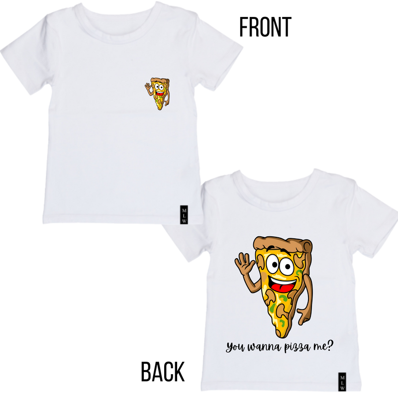 MLW By Design - Pizza Me | White or Black