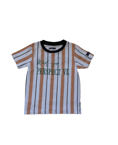 Jnr St Kids - PERSPECTIVE STRIPE T – KIDS