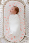 "Anchor & Arrow - ""Cherry Blossom"" Bassinet sheet"