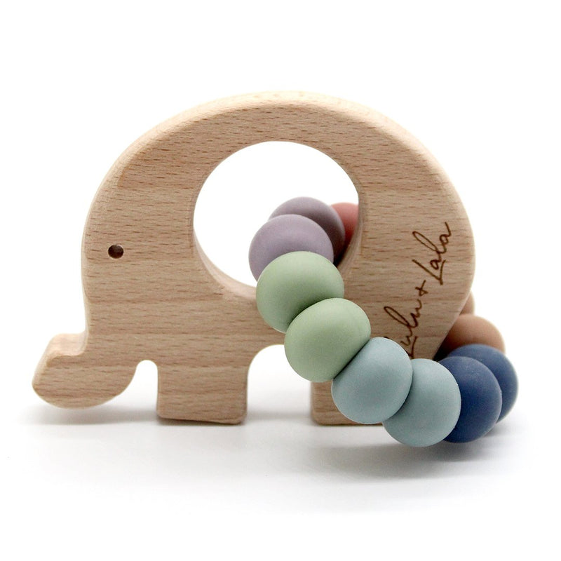 Lulu & Lala - VINTAGE RAINBOW TEETHER COLLECTION ~ Elle