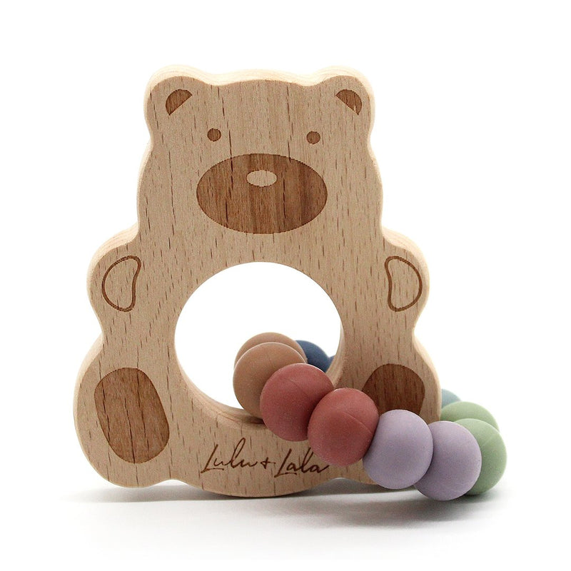 Lulu & Lala - VINTAGE RAINBOW TEETHER COLLECTION ~ Ted