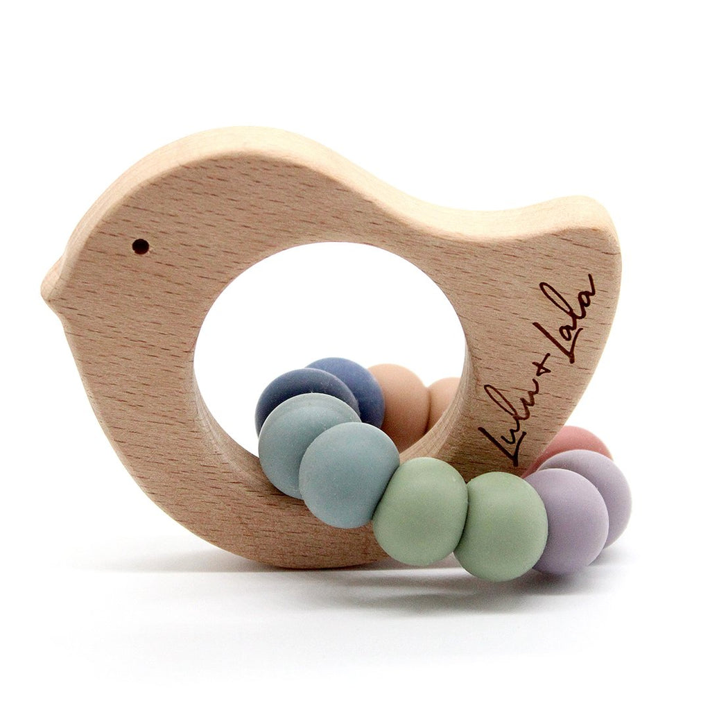 Lulu & Lala - VINTAGE RAINBOW TEETHER COLLECTION ~ Tweet