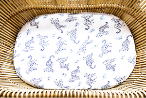 Anchor & Arrow - 'Little leopards' Bassinet Sheet and change table cover
