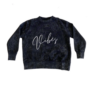 MLW By Design - Vibes Stonewash Jumper