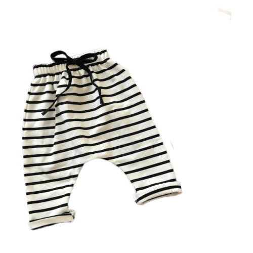 Stripe Essential Harems | White
