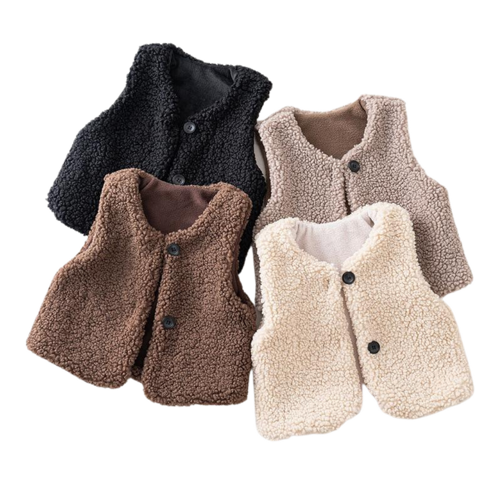 Cuddly Winter Vests | 3 Colours