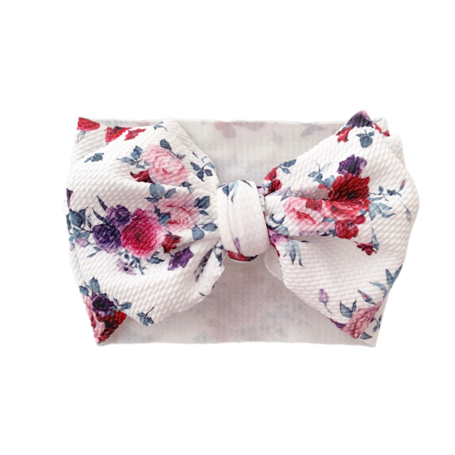 Sweet Tots Shop - FLORAL MESSY Bow Collection