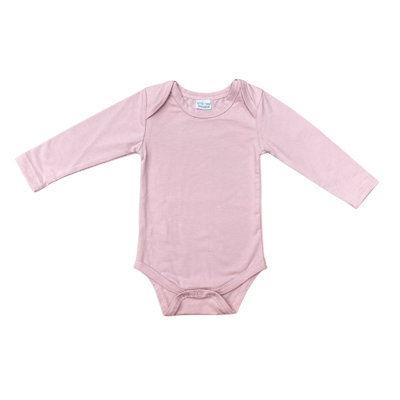 MLW By Design - Basic Long Sleeve Bodysuit | Pink
