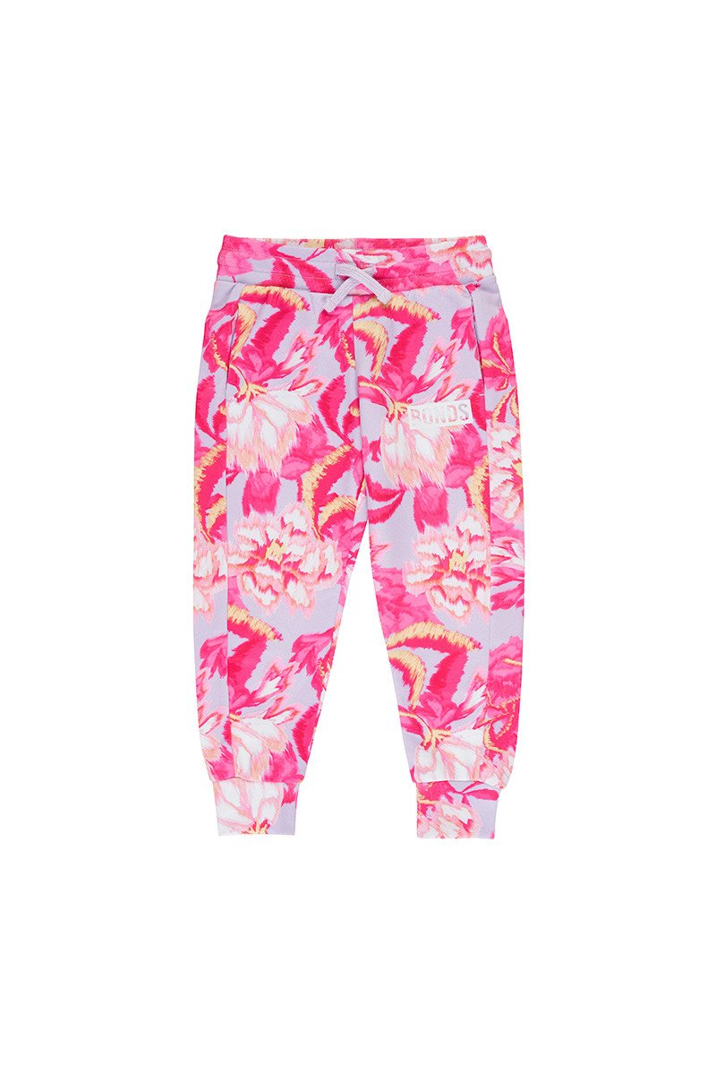 BONDS - Digi Sweat Trackie | Blurred Blooms Pink