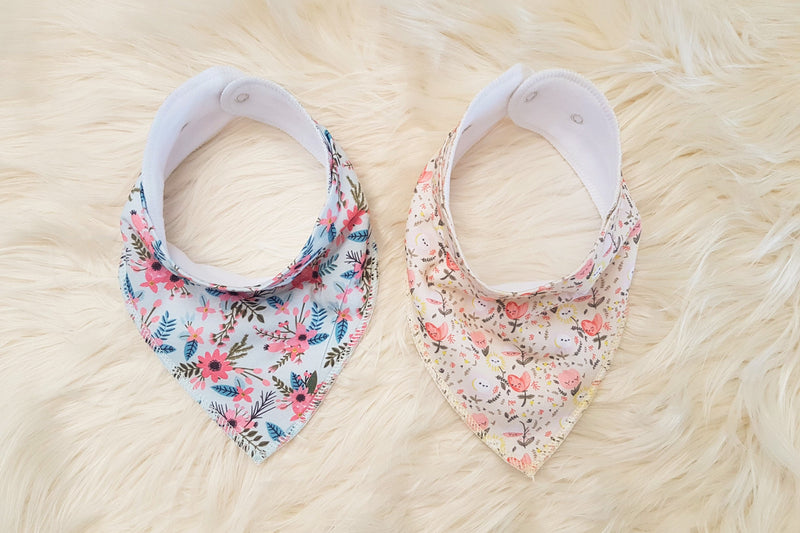 Hear Me Roar Kids - Bloom | Bandana Bib Set