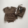 Anarkid - MUSLIN SWADDLE BROWN LEOPARD