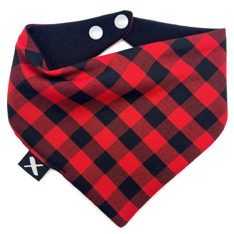 MISSAMADEIT - Red Plaid Bib