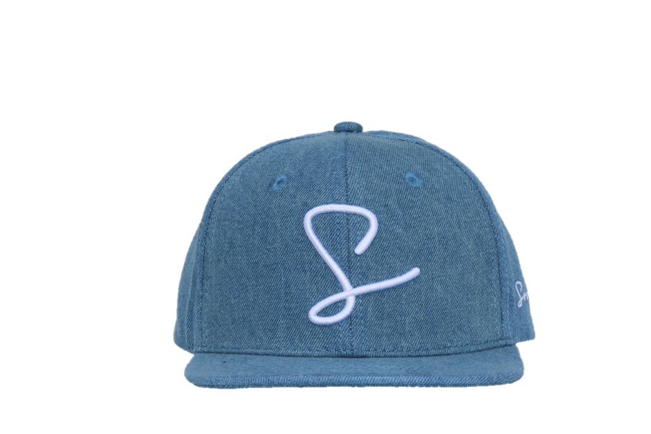 Sonny Australia - Light Blue Denim Snapback