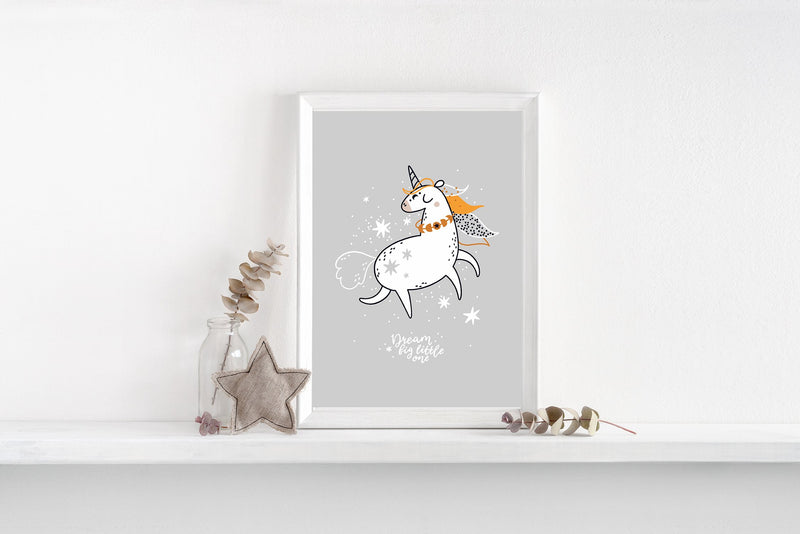 Floss Baby - Unicorn Dream Big Print