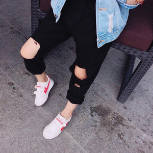 MLW By Design - Ripped Jeans | Black