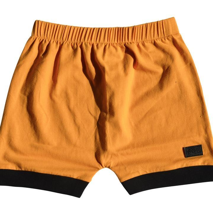 Global Bambino - Mustard Harem Shorts
