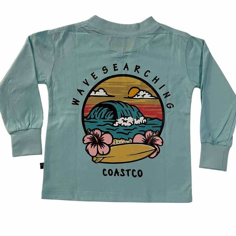 Coast Co Surf -  Wave searching long sleeve