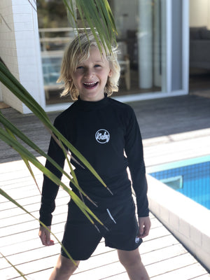 Kicky Swim - Rashguard Top | Black