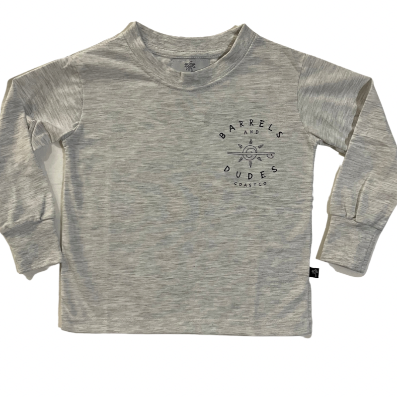 Coast Co Surf -  Barrels & dudes long sleeve Tee